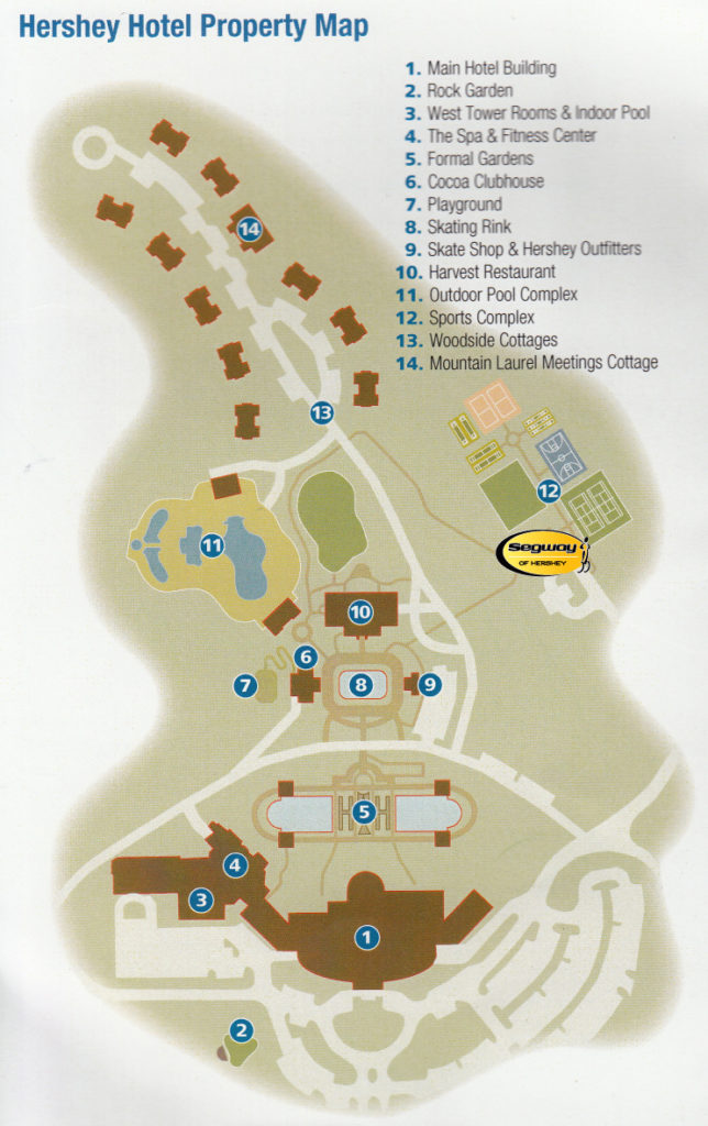 Map of the Property